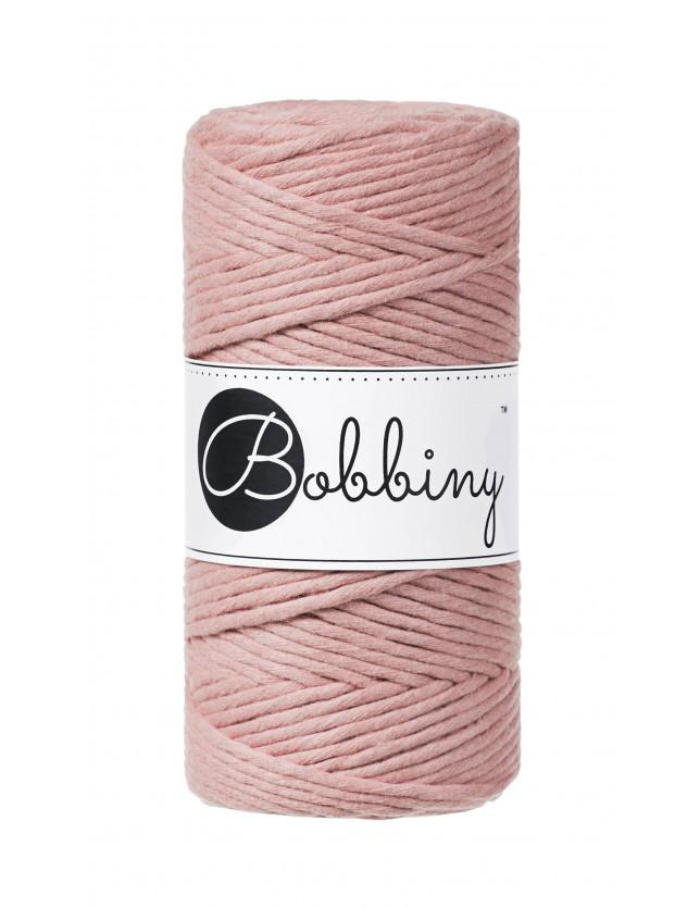 BOBBINY Macramé cord 3 mm  Dusty Pink