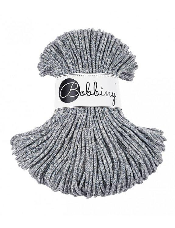 Bobbiny JUNIOR cord 3 mm ČIERNOBIELA